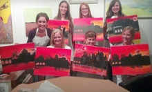BYOB Painting Class for One or Two at Hook Gallery & Framing (Up to 51% Off)