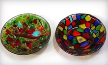 Basic Glass-Fusing Class for One, Two, or Four at Circle 6 Studios (Up to 58% Off)