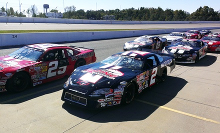 Short-Track Racing Experience or Ride-Along at Rusty Wallace Racing Experience (Up to 60% Off)