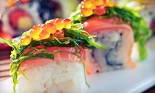$15 for $30 Worth of Sushi at Asiana Sushi Grill