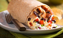 $5 for $10 Worth of Casual Mexican Food and Drinks at Qdoba Mexican Grill. Six Locations Available.