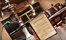Two or Four Hookah Flavors with Non-Alcoholic Drinks at The Blue Caterpillar Hookah Lounge (Up to 61% Off)