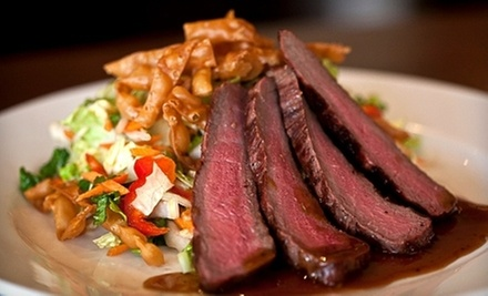 Contemporary Cuisine at Cafe 225 (Half Off). Two Options Available.