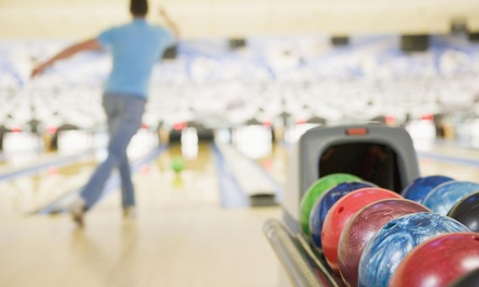 Bowling with Option for Pizza and Soda, or Billiards with Pizza and Beer (Up to 51% Off)