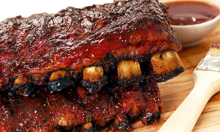 Barbecue, Southern Sides, and Craft Beers for Two or Four at Hogs & Hops BBQ (Up to 45% Off)