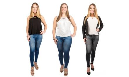 Women's Slim & Lift Caresse Jean Leggings
