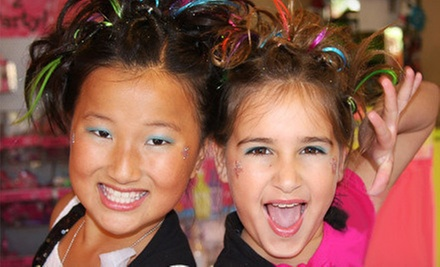 Kids' Makeover for One or Makeover Party for Four at Sweet & Sassy (Up to Half Off)