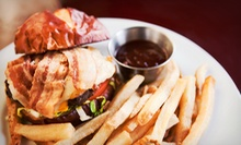 Pub Food and Drinks at Classics Sports Bar and Lounge (Half Off)