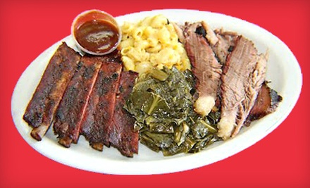 Barbecue and Seafood at J & J's BBQ & Fish (52% Off)