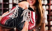Bowling for Four or Eight with Shoes, Pizza, and Drinks at Sylvan Lanes Bowling Center in Sylvan Lake (Up to 71% Off)