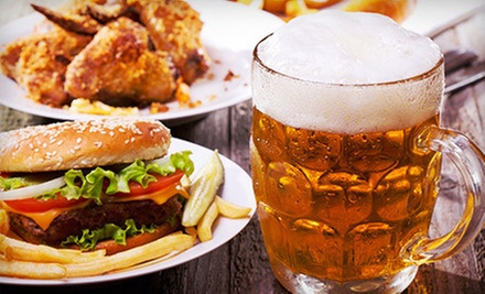 Sports Bar Meal for Two or Four with Appetizers, Entrees, and Beer at Rudi's Bar and Grill (Up to 74% Off)