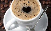 $15 for Five Groupons, Each Good for $6 Worth Coffee, Tea, and Snacks at World of Coffee and Tea ($30 Total Value)