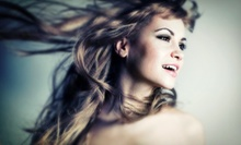 Haircut Package with Style, Conditioning, and Optional Partial Highlights at Concepts Salon & Spa (Up to 60% Off)