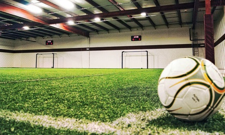 5 or 10 Open-Play Sessions, or a Birthday Party for Up to 15 Kids at Kick-em Training Facility (Up to 52% Off)