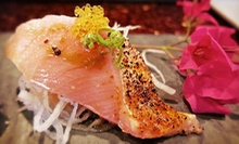 Asian Cuisine and Sushi for Parties of Two or More or Four or More at Aroma Restaurant and Sushi (Half Off)