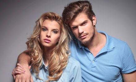 Men's Cut or Women's Cut with Optional Color, or Keratin Treatment at Red Soul Salon (Up to 54% Off). 5 Options.