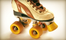 5 or 10 Roller-Skating Sessions with Icee Slushies or Fountain Drinks at Everett Skate Deck (Up to 67% Off)