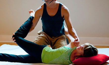 One or Three 60-Minute Thai Massages at Liberation Thai Yoga Massage Therapy (Up to 47% Off)