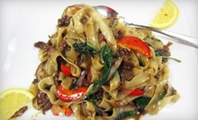 $12 for $24 Worth of Asian Cuisine at Lemongrass Asian Bistro
