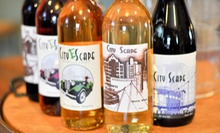 Wine Tasting and Tour for Two or Winery Party Package for Six or Up to 12 at City Scape Winery (Up to 54% Off)