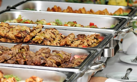 Hibachi Lunch or Dinner Buffet for Two or Four at Hunan Buffet (Up to 31% Off)
