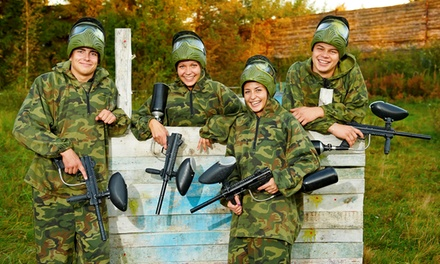 $159for a SplatMaster Low-Impact Paintball Party for Eight at Combat Zone Paintball ($275Value)