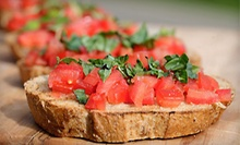 Californian Food and Drinks at Liaison Lounge and Restaurant (Up to 53% Off). Two Options Available. 