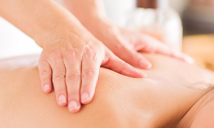 One or Three 60-Minute Massages with Chiropractic Package at Living Roots Chiropractic (Up to 81% Off)