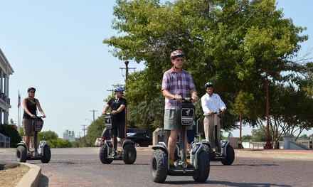 90-Minute Guided Segway Tour for One, Two, or Four from Segway Fort Worth (Up to 56% Off)