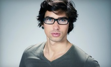 $35 for an Optometry Package with Eye Exam and $200 Toward Lenses and Frames at Happy Eyes Optometry ($285 Value)