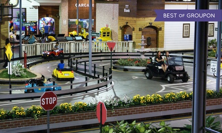 Four or Six Rounds of Kids' Driving Experience at Tiny Towne (Up to 30% Off)