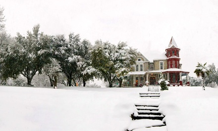 groupon daily deal - 1- or 2-Night Stay for Two at Angel's Nest Bed & Breakfast in Weatherford, TX. Combine Up to Four Nights.