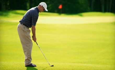 18-Hole Round of Golf with Cart Rental for Two or Four at Portland Country Club (Up to 62% Off)