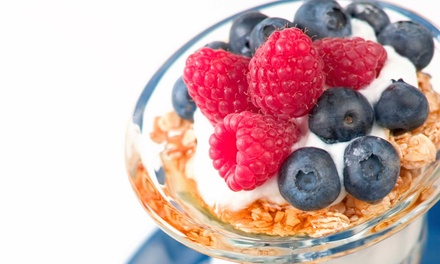 $7.50 for $12 Worth of Healthy Breakfast Food for Two at Greens and Proteins