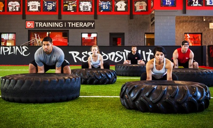 $69 for One Month of Unlimited Boot-Camp Classes a t D1Sports Training ($180 Value)