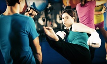 $25 for One Month of Unlimited Kickboxing Classes at PTC Combat Fitness ($80 Value)