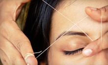 One Full Facial Threading or One Session of Eyebrow Threading at Perfect Brow Bar (Half Off)