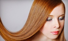 Brazilian Blowout Hair-Smoothing Treatment with Optional Haircut from Verenice at Hair It Is Suite 117 (70% Off)