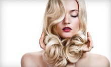 Haircut Package with Style and Optional Partial or Full Highlights or Color from Nikki at Hair NV (Up to 59% Off)