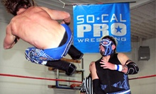 SoCal Pro Wrestling Event for Two at Boys &amp; Girls Club on Saturday, May 18 at 7 p.m. (Up to Half Off)