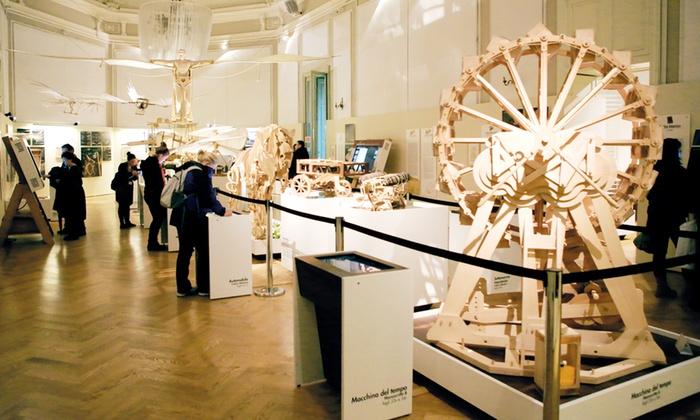 Leonardo 3 - LEONARDO3: Il Mondo di Leonardo - Biglietto per la mostra con oltre 200 modelli e ricostruzioni a 6 €