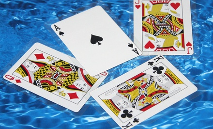 2-Pack of Waterproof Playing Cards