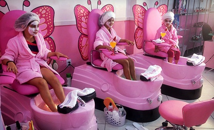 Kids 39 Spa Package Or Party Mommy Me Salon Groupon