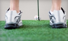 Two Hours of Simulated Golf for Two, or Four Hours of Simulated Golf for Four at Score 18 Indoor Golf (Half Off)
