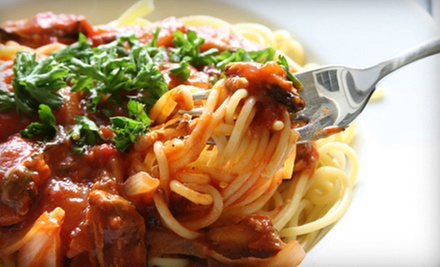 Italian Cuisine at Cafe Mangia (Up to 51% Off). Three Options Available. 