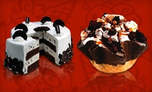 $15 for Three $10 Vouchers for Ice Cream, Frozen Yogurt, and Cakes at Cold Stone Creamery
