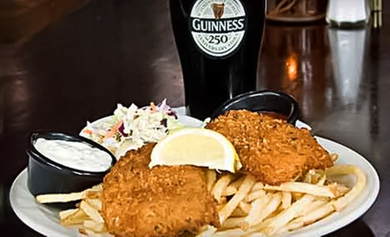 $10 for $20 Worth of Irish Pub Food at Paddy Coynes