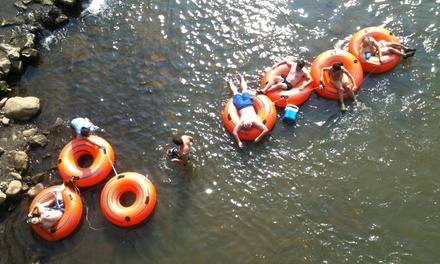 River Tubing for Two or Four at Coal Tubin' (50% Off)