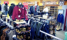 $25 for $50 Worth of Clothing and Apparel at G & L Clothing