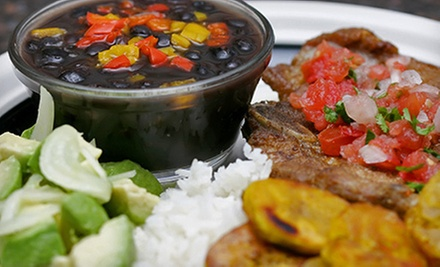 Cuban Dinner with Appetizers and Entrees for Two or Four at Mambo Grill & Tapas (Up to 61% Off)